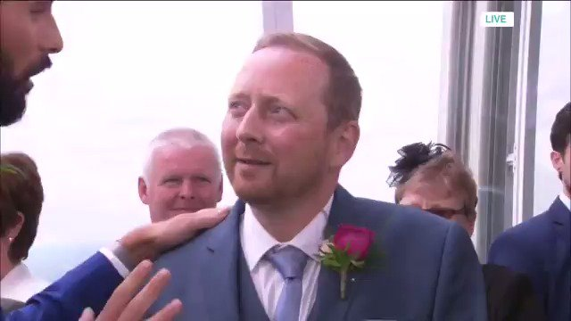 If our #TMWedding groom Paul was nervous at the start of the show, we...