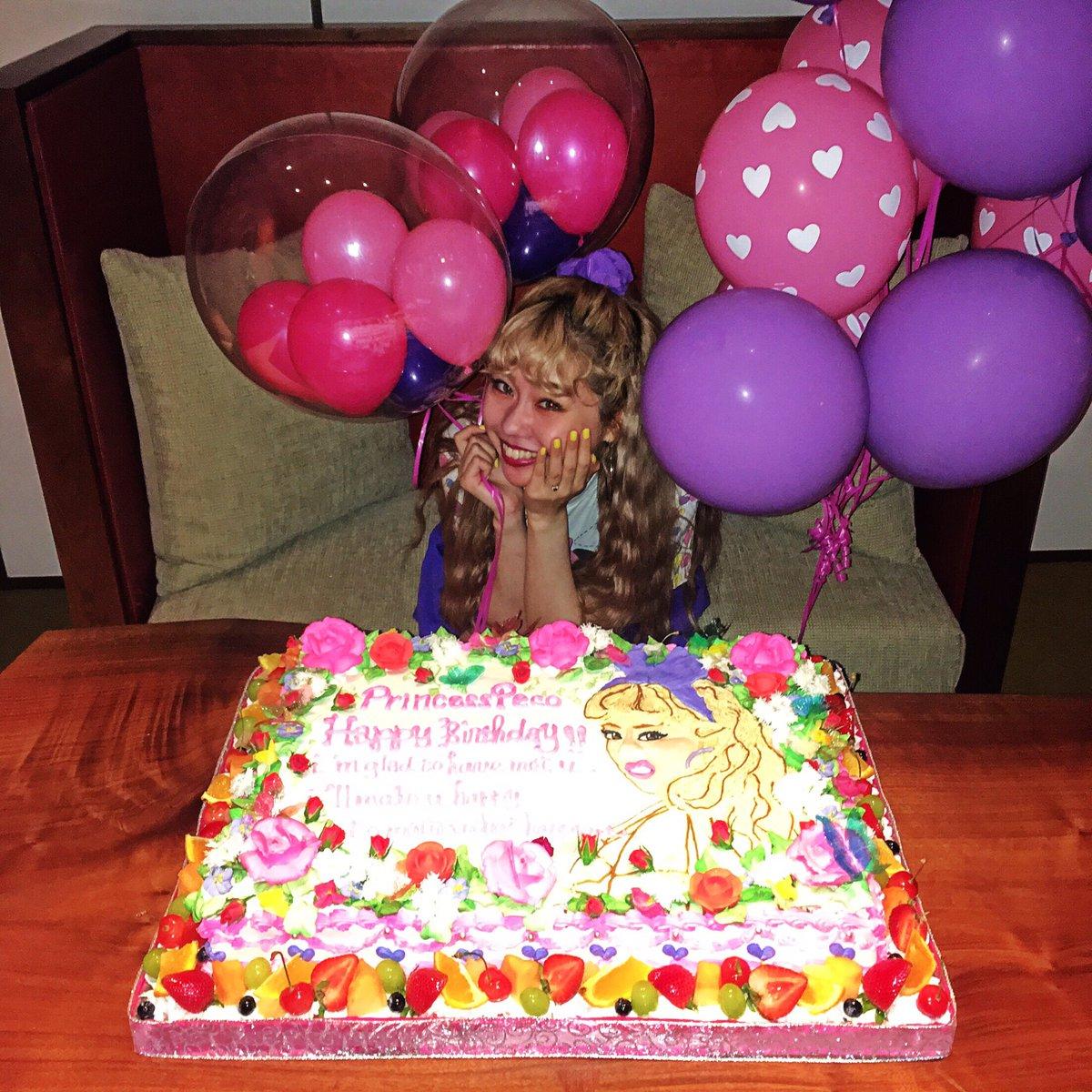22歳おめでとうぺこり~~ん!! ✨22歳もこれまで以上に幸せにするね!! ✨✨ダイスキ!!!!!