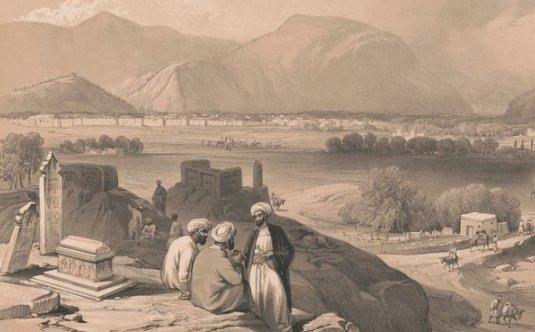 رسوم في أفغانستان للإنغليزي جيمس أتكينسون الذي رافق الجيش البريطاني أثناء الحرب الأنغلو-أفغانية الأولى (1838-1842). https://t.co/JzAJTK1Zrq https://t.co/Makd0whcLq