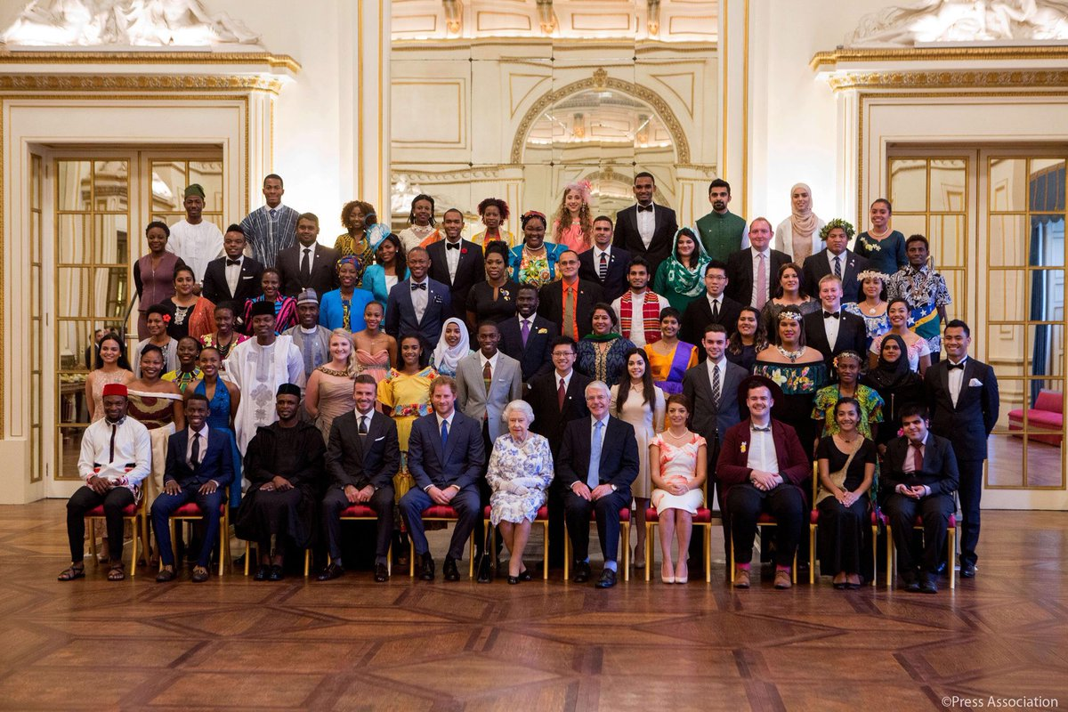 Prince Harry will attend The @QueensLeaders Award Ceremony this evenin...
