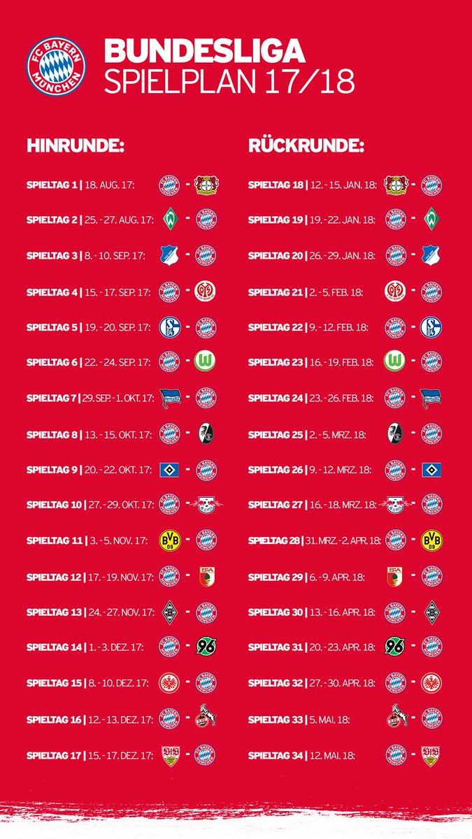 Servus, #Bundesliga! 👋  Eure Meinung zum Spielplan? 🤔  Alle Infos: htt...