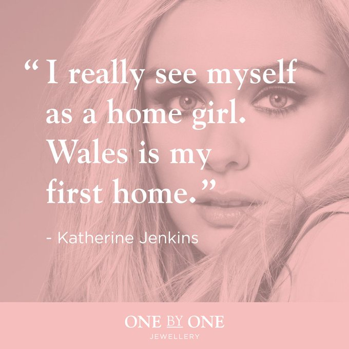 Happy birthday to the gorgeously talented Katherine Jenkins!