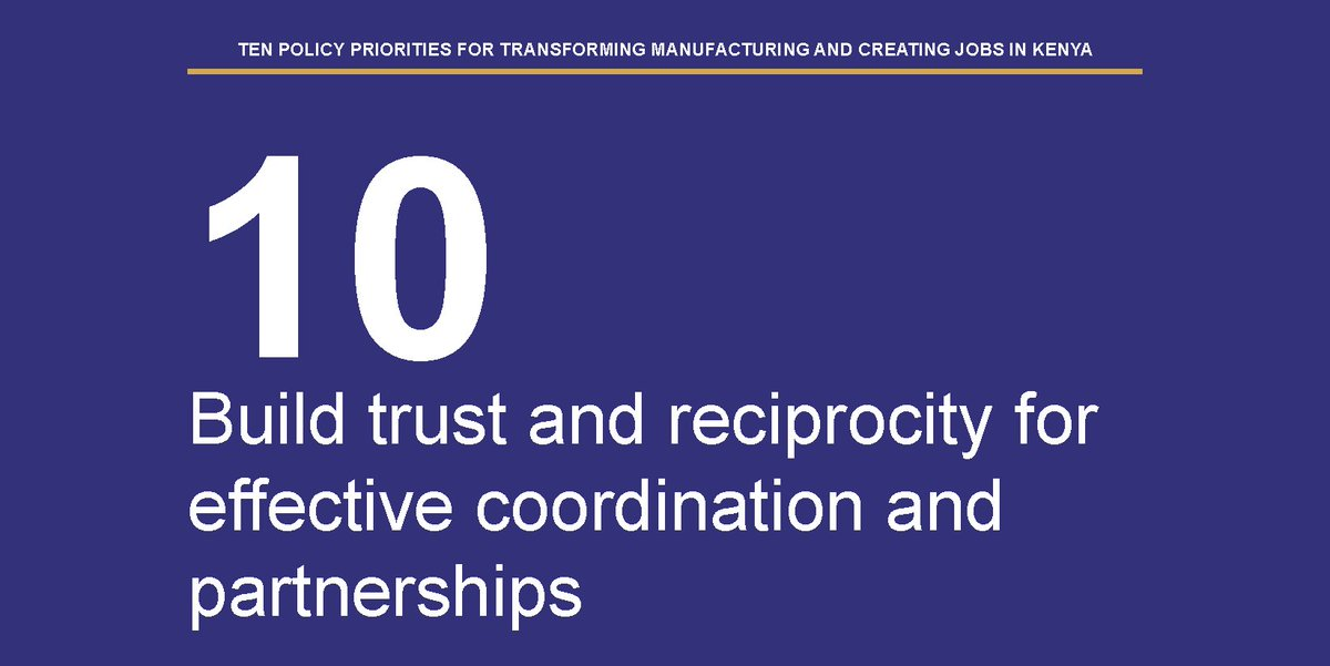 How can #Kenya industrialise&amp; transform its economy?Point #10 on our policy plan for the #manufacturing sector<br>http://pic.twitter.com/LIrFTQKjir