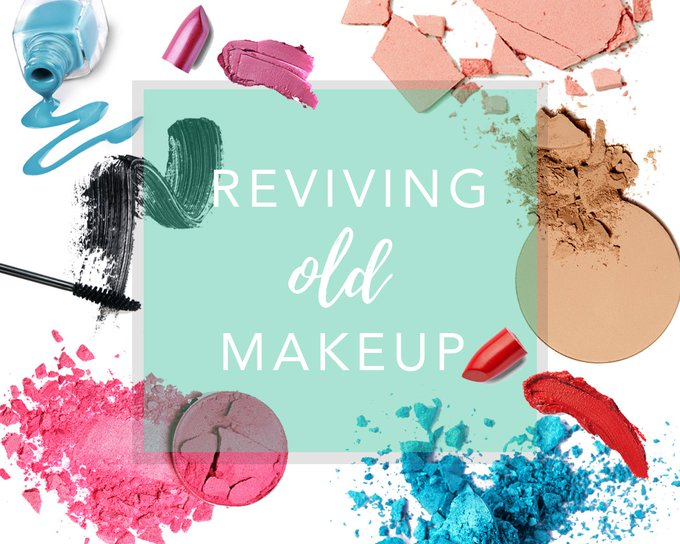 How to... revive old or broken makeup