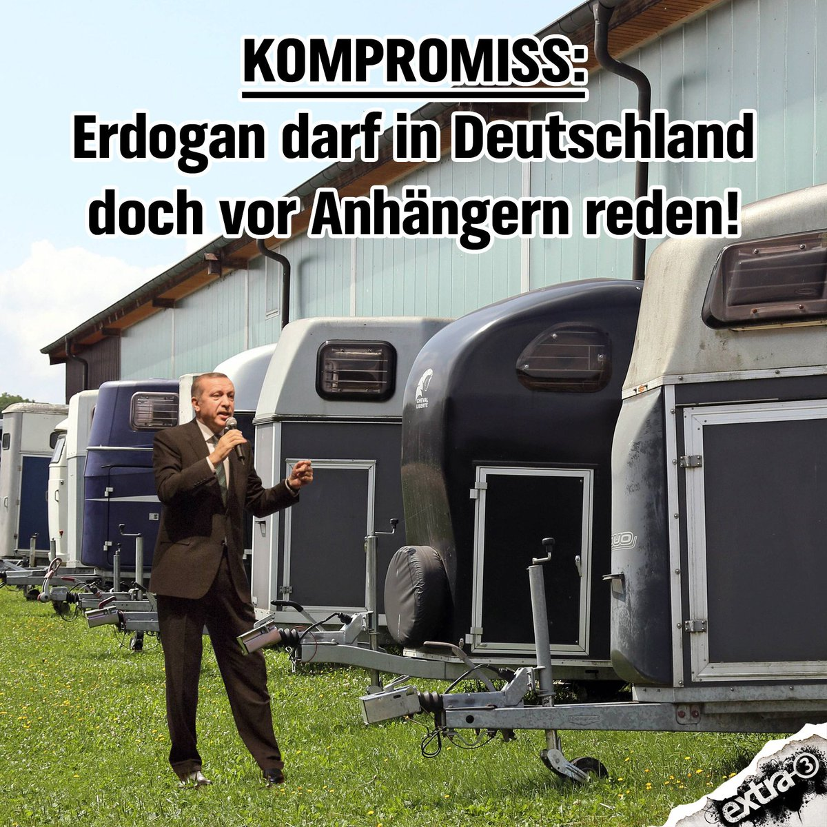 #Erdogan in Deutschland: Bundesregierung knickt ein!