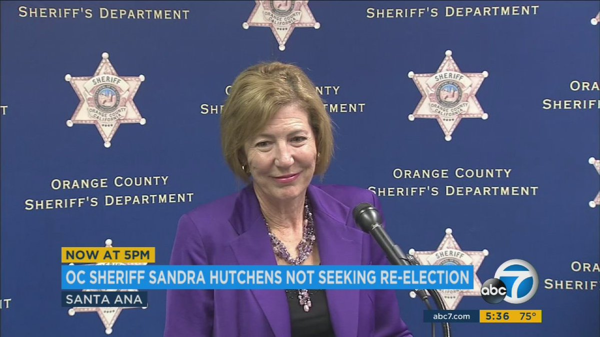 Orange County Sheriff Hutchens says ACLU report not a factor in retire...