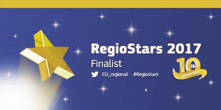 Driveless bus #Sohjoa finalist in RegioStars. Winner announced 10.10.2017 in Brussels. Fingers crossed!  @Kuutosaika https://t.co/FUiGV8f9qR