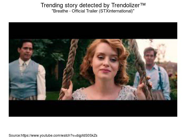 Breathe - Official Trailer (STXinternational) #AndrewGarfield #ClaireF...