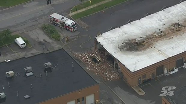 WATCH LIVE: Aerial footage of explosion at Woodbridge cafe https://t.c...