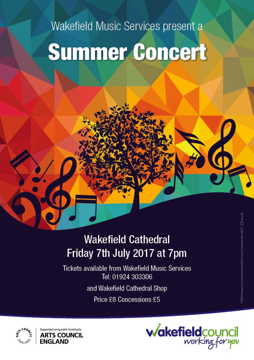 Bringing musicians together from across Wakey! Our Summer Concert with Youth & Training Orchestras, Hunt for Horns, Youth Choir & Manyvoices