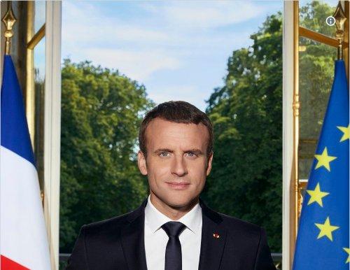 🔴 FLASH - @EmmanuelMacron publie son #PortraitOfficiel sur Twitter htt...