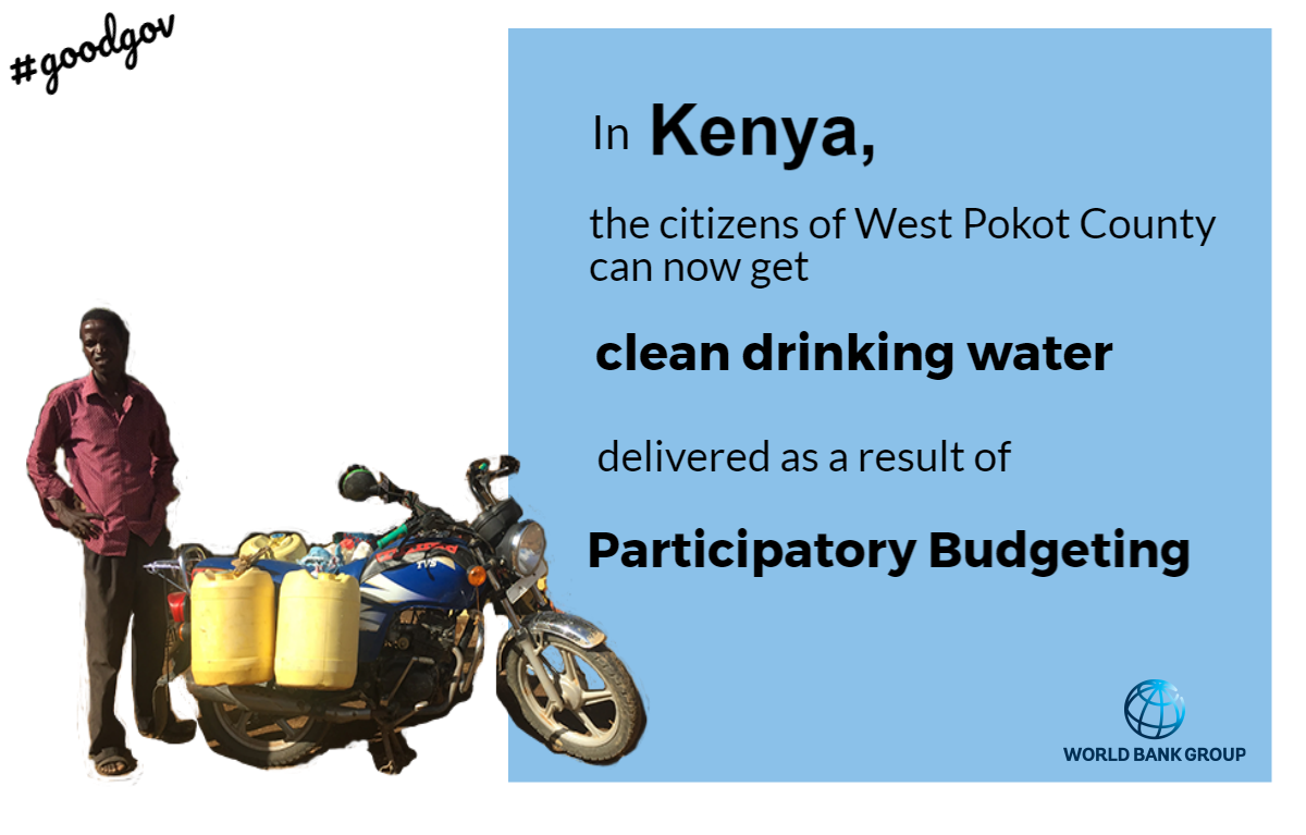 Empowered citizens in #Kenya take action to solve their village's water dilemma. Read how  http:// wrld.bg/eHhS30d21AG  &nbsp;    #goodgov<br>http://pic.twitter.com/yPJwCLzuW5