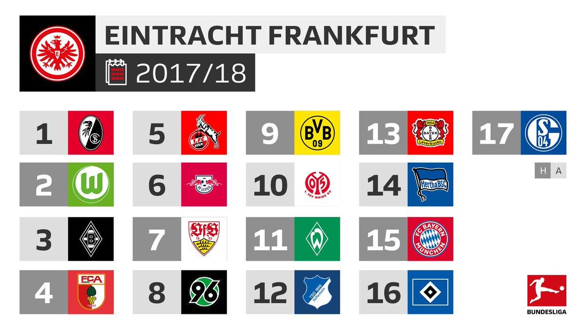 Bundesliga On Twitter Für Die At Eintracht Beginnt Die Bundesliga