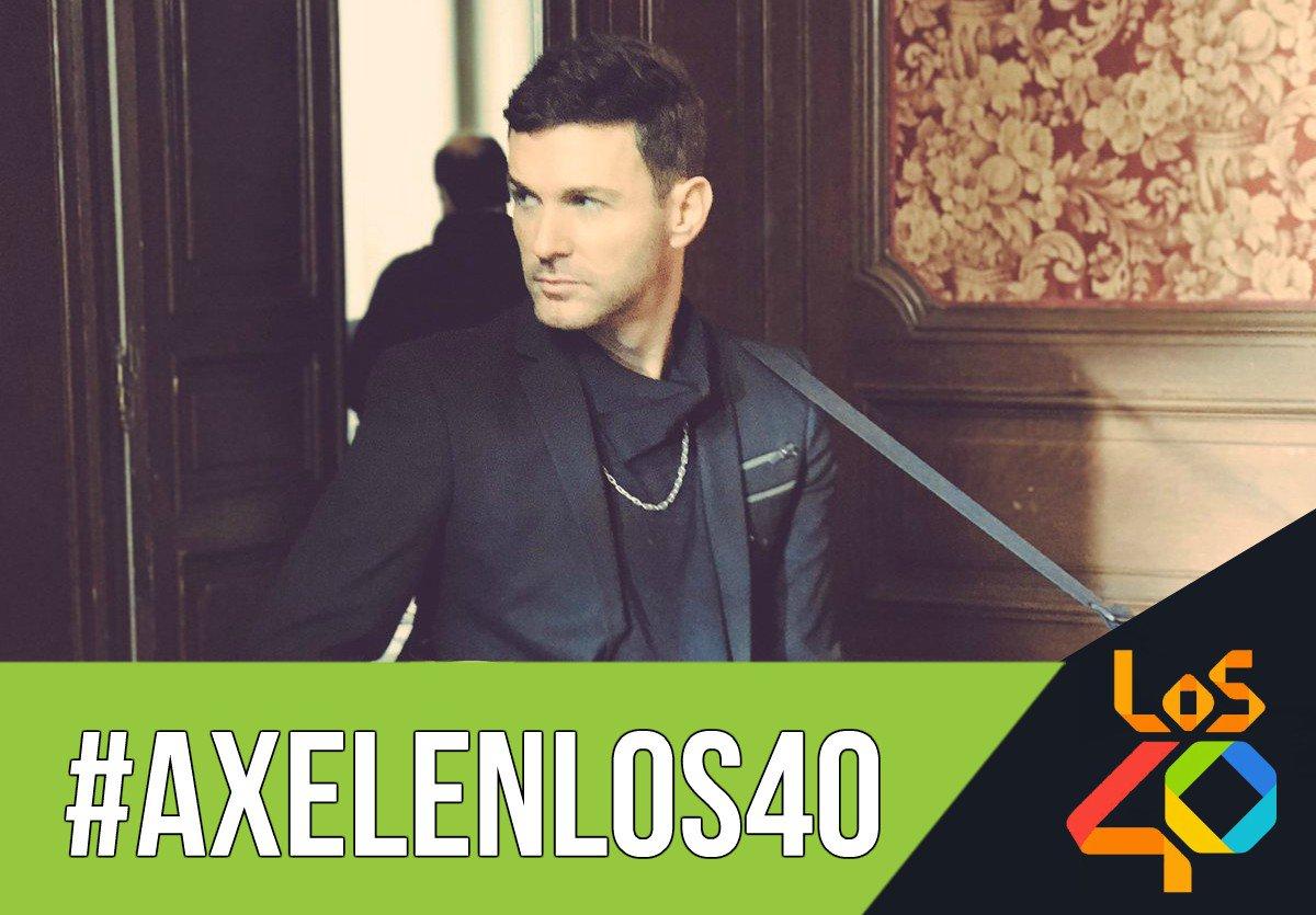 #AxelEnLOS40 HOY➡Nos visita @AxelOficial! No te pierdas la entrevista...