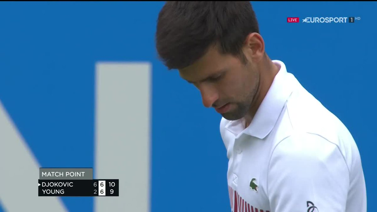Novak Djokovic is in the semi-finals at Eastbourne after a challenging...