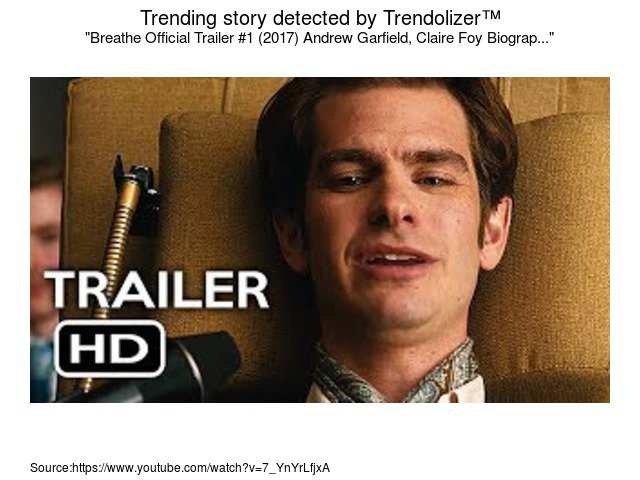 Breathe Official Trailer #1 (2017) #AndrewGarfield, #ClaireFoy Biograp...