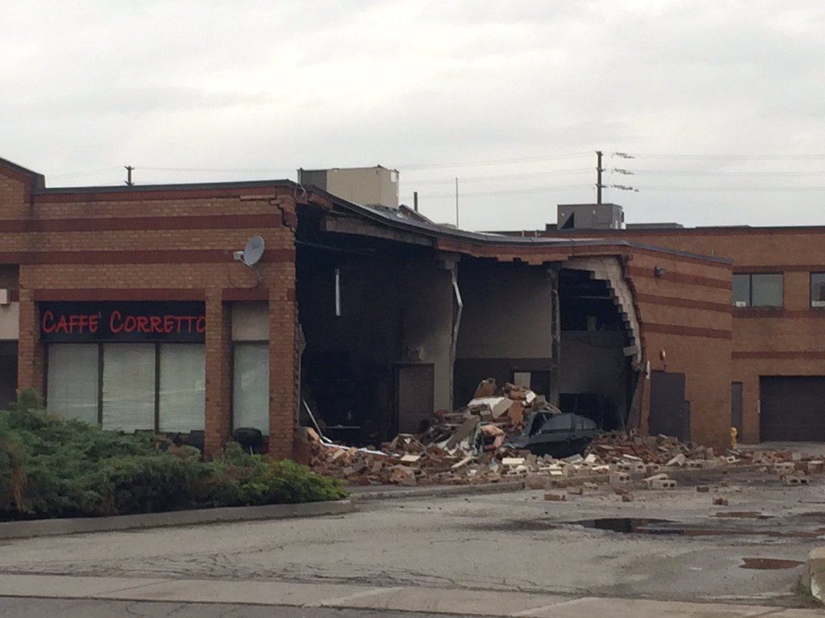 Explosion at Caffe Corretto in Vaughan being investigated as suspiciou...