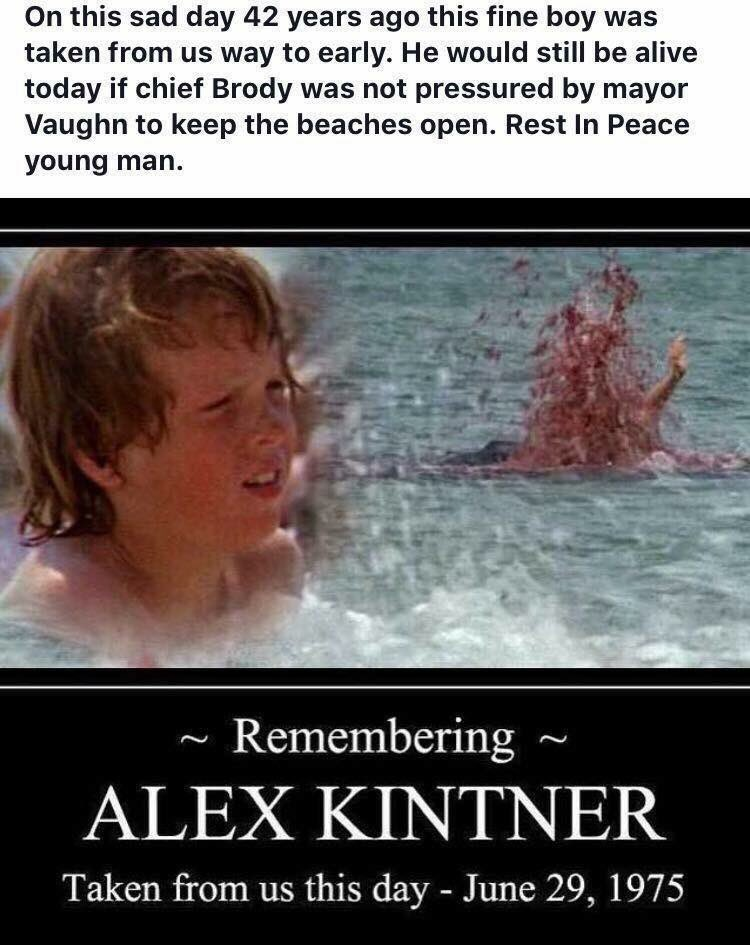 Always remember #kintnerboy #jaws #amity<br>http://pic.twitter.com/y42zXgVcCf