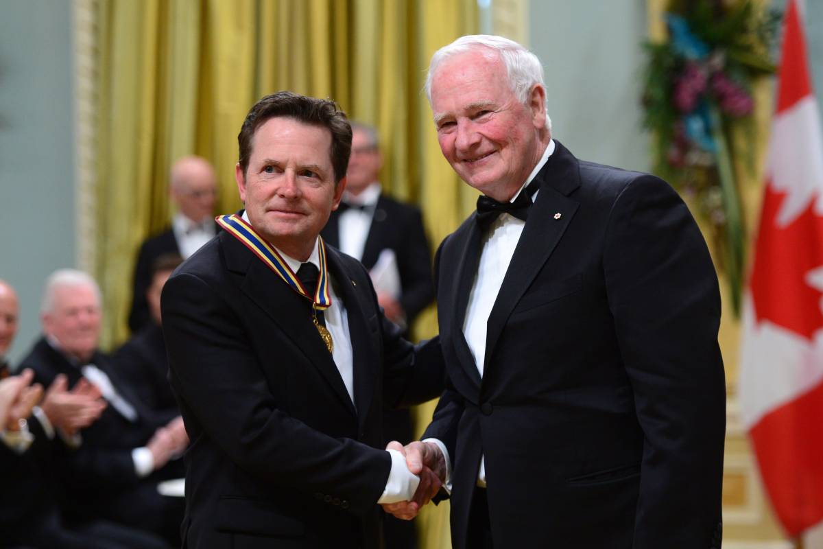 Michael J. Fox, Michael Buble, Martin Short honoured by Governor Gener...