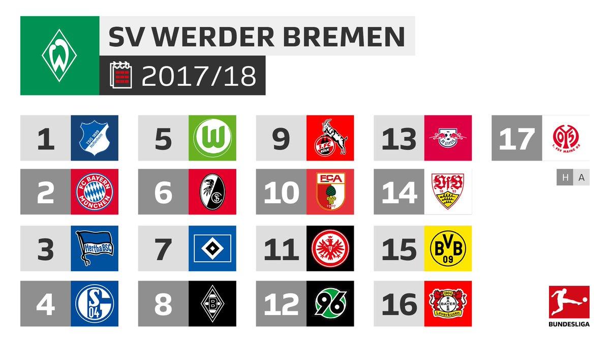 Bundesliga On Twitter Für At Werderbremen Beginnt Die Bundesliga
