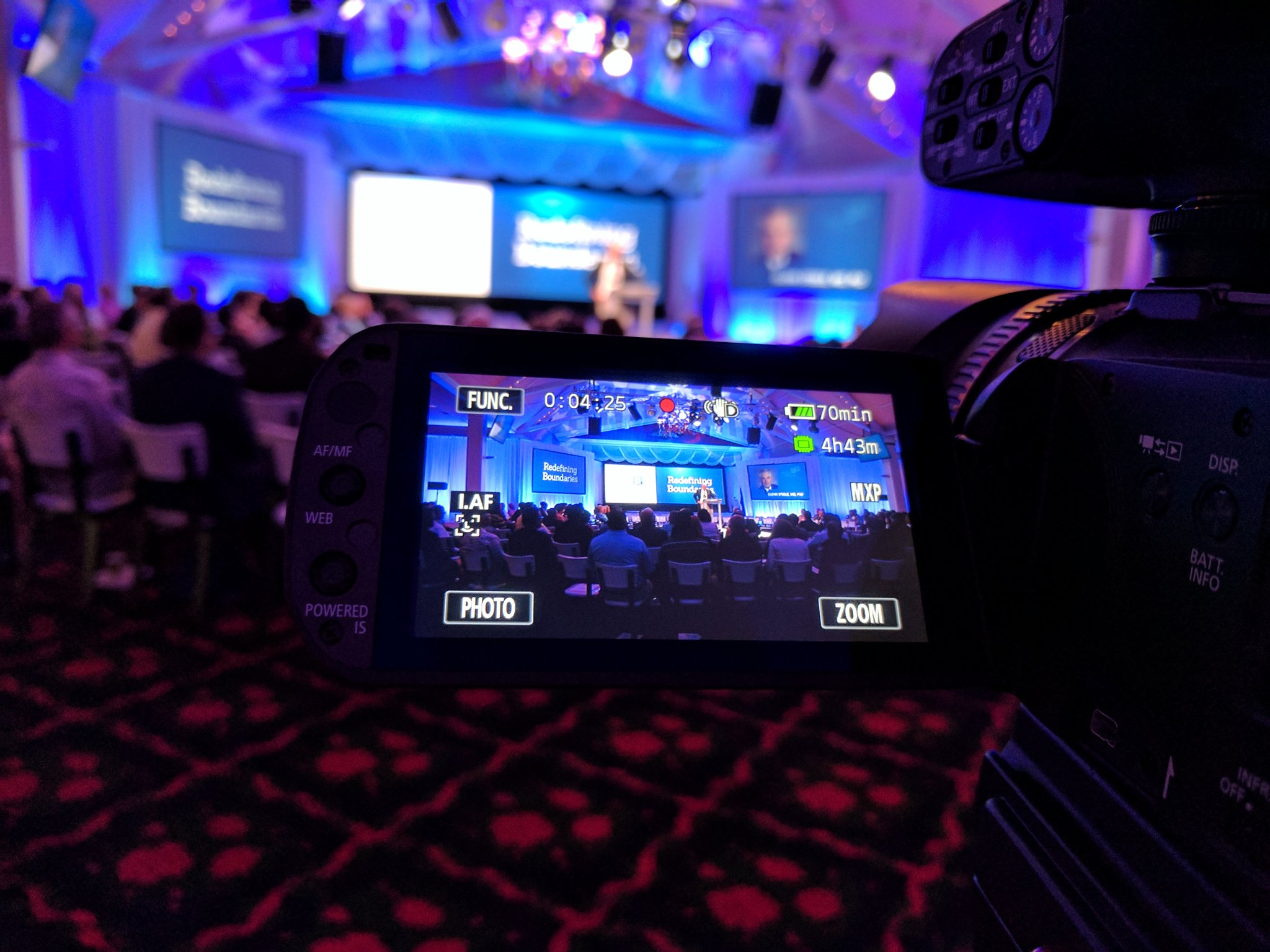 Getting started this morning at #MHAannual https://t.co/hNYtw7W3Wb