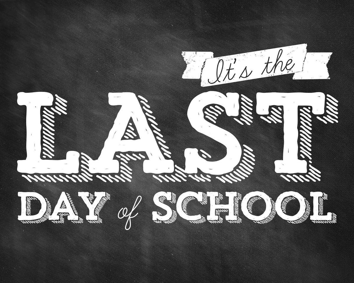 Wishing everyone a very happy #LastDayofSchool! #SummerVacation https:...