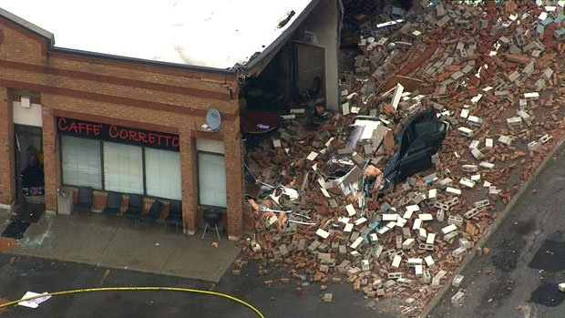 Police investigating 'suspicious' explosion at cafe at Ontario cafe ht...