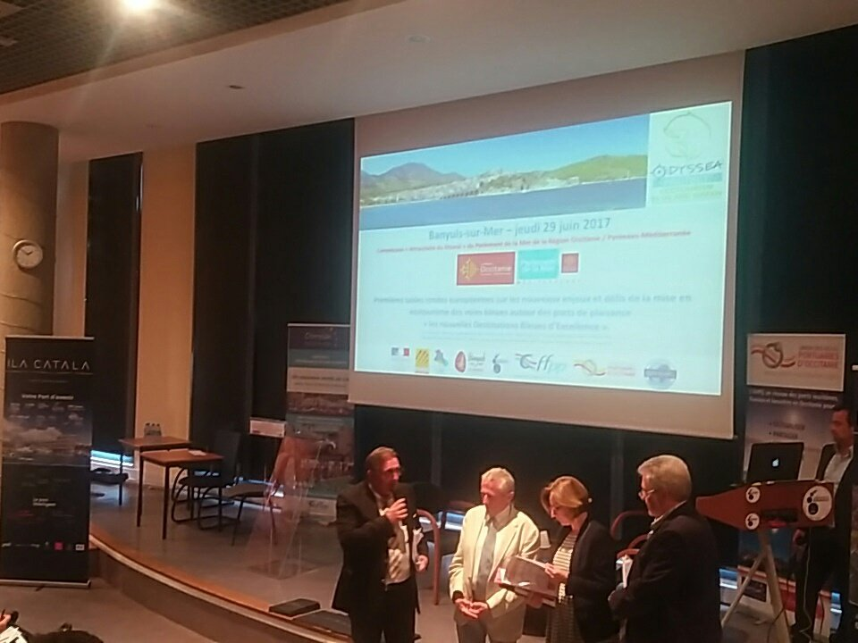 Tables rondes #écotourisme #port #terroir #tourismebleu #attractivité #croissance #ODYSSEA @Occitanie @pyrenees @Banyulssurmer #pmiro<br>http://pic.twitter.com/qU0zEuEPoA