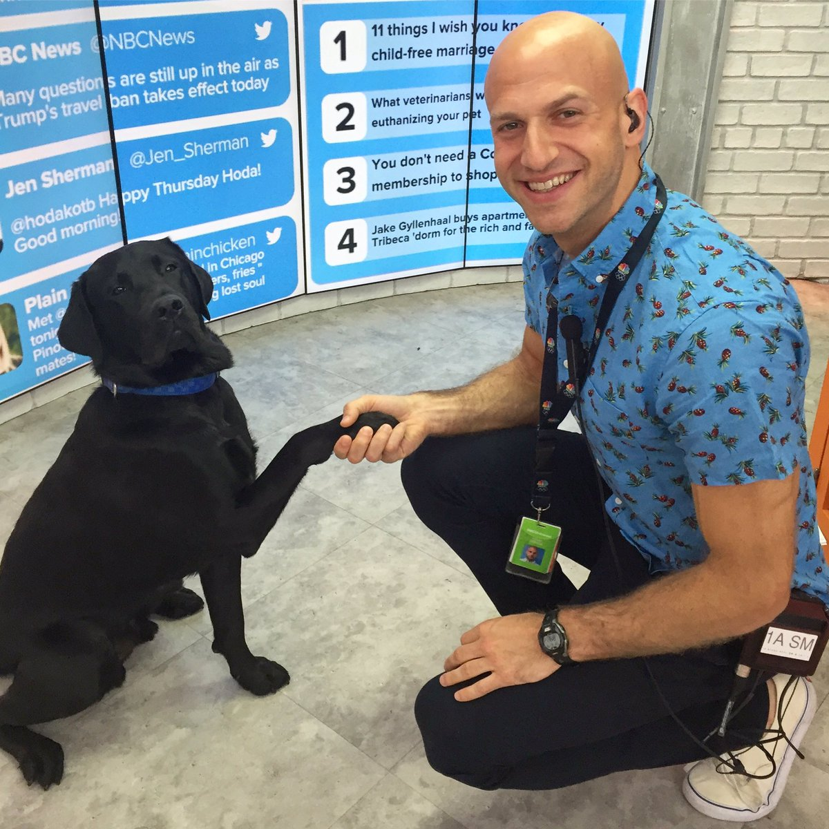 Happy National Handshake Day! @TODAYshow @TODAYPuppy #NationalHandshakeDay