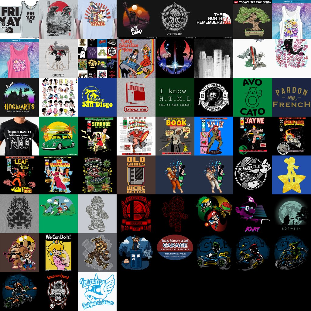 New shirts for Jun 29. Including The Companion, We Can Do It, & Fr...