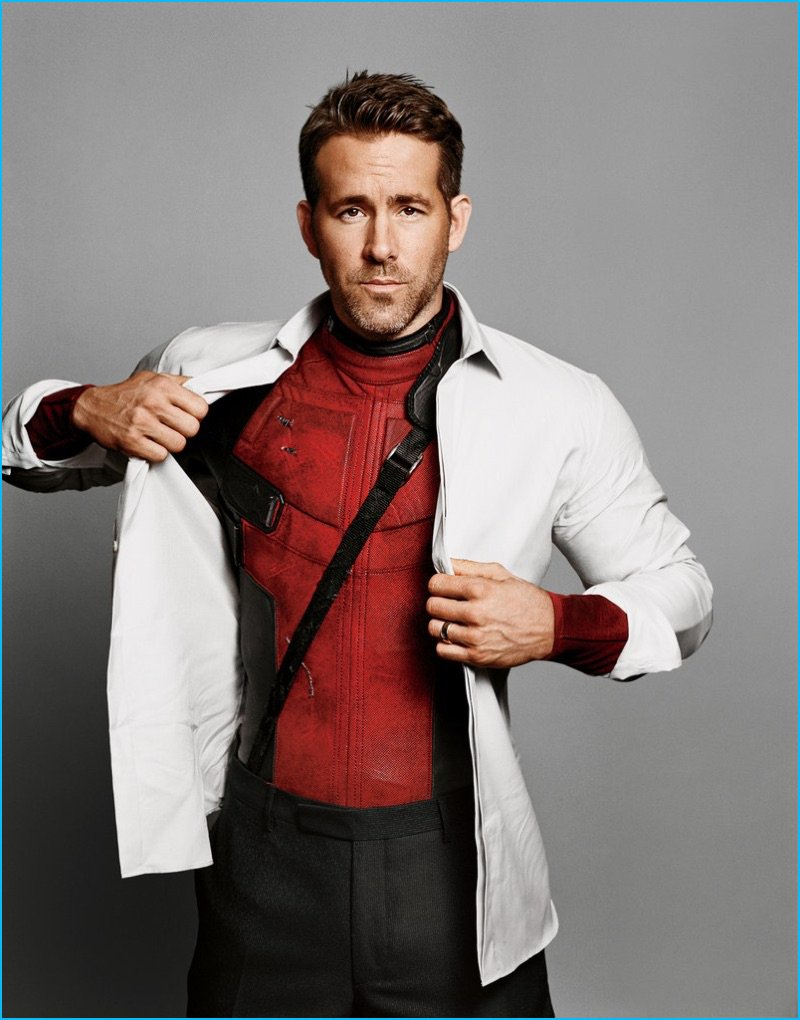 Just Deadpool pretending to be Ryan Reynolds.  #RyanReynolds #Deadpool...