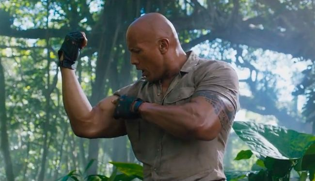 The first #Jumanji: Welcome to the Jungle trailer is here https://t.co...