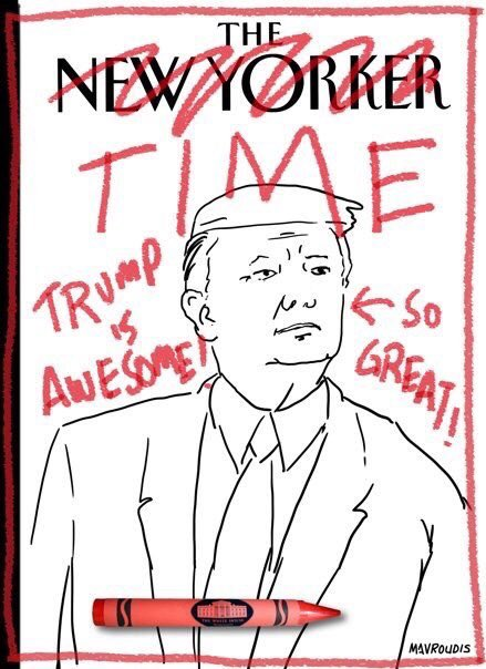 New Yorker cover is awesome and so great! https://t.co/Kx0omqVo9F
