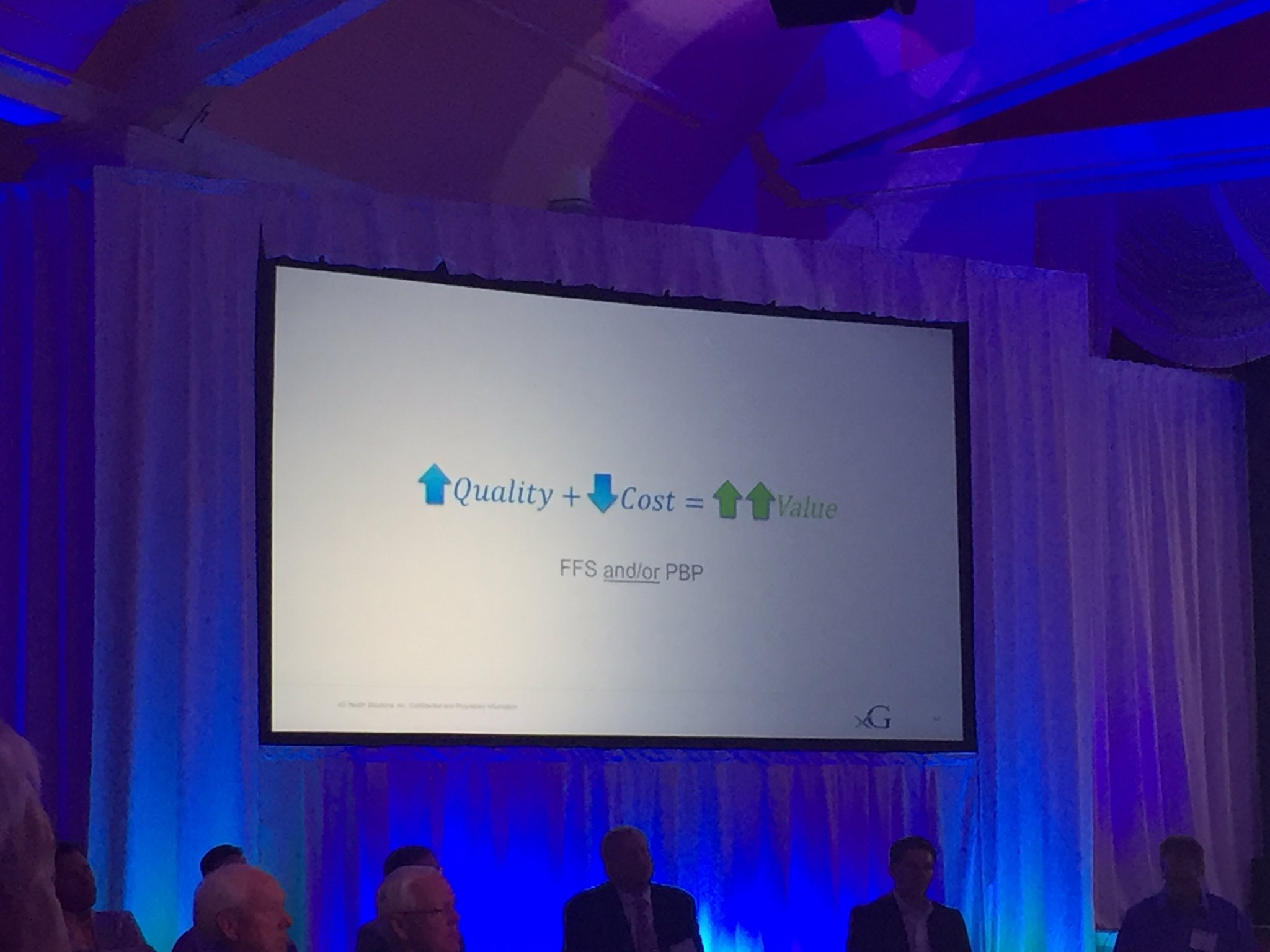 Steele: quality ⬆️ + cost ⬇️= value ⬆️⬆️ #MHAannual https://t.co/rRGV6F0YXW