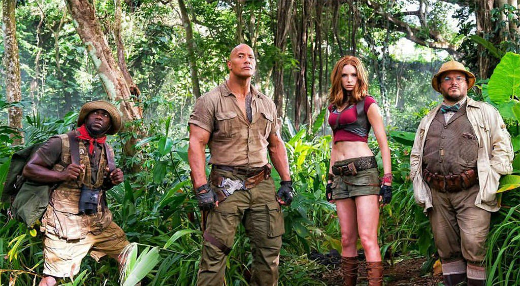 Jumanji: Welcome to the Jungle's first trailer is here and it's full o...