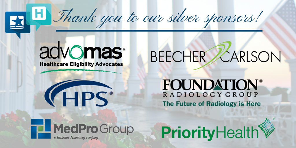 Thanks to the silver sponsors of this year's #MHAannual Meeting! We greatly appreciate your support! https://t.co/PnVjQC2zgL