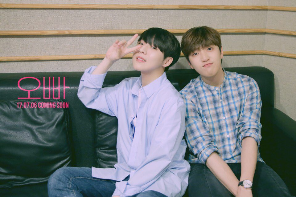 #B1A4's Sandeul And Yoo Seung Woo Share Teaser Photo For Collaboration...