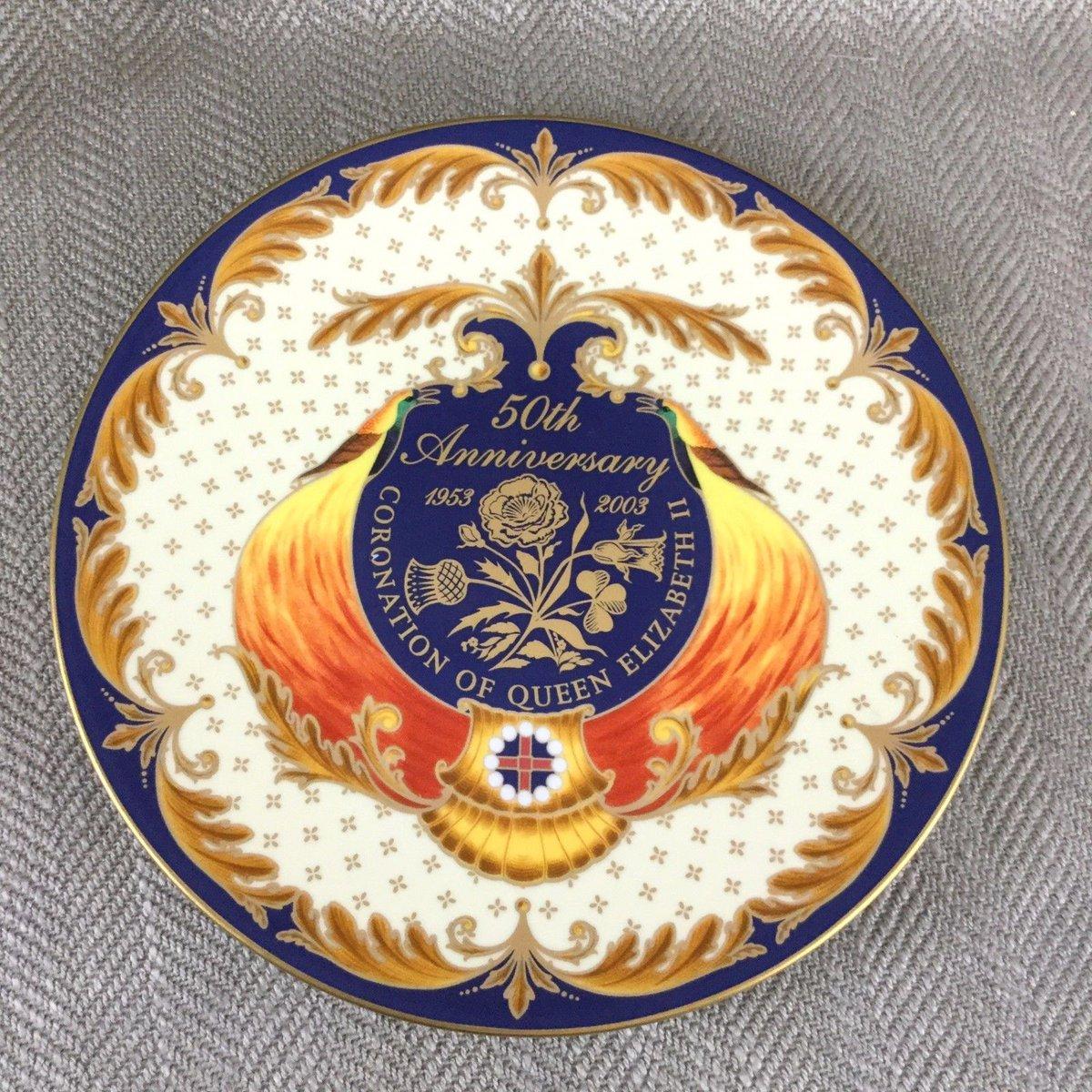 Royal Worcester Commemorative Plate #QueenElizabeth #Royalty #Royal #C...