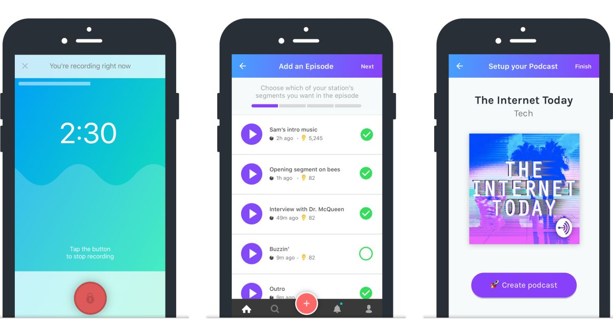 Anchor lets you record and publish podcasts from your phone https://t....