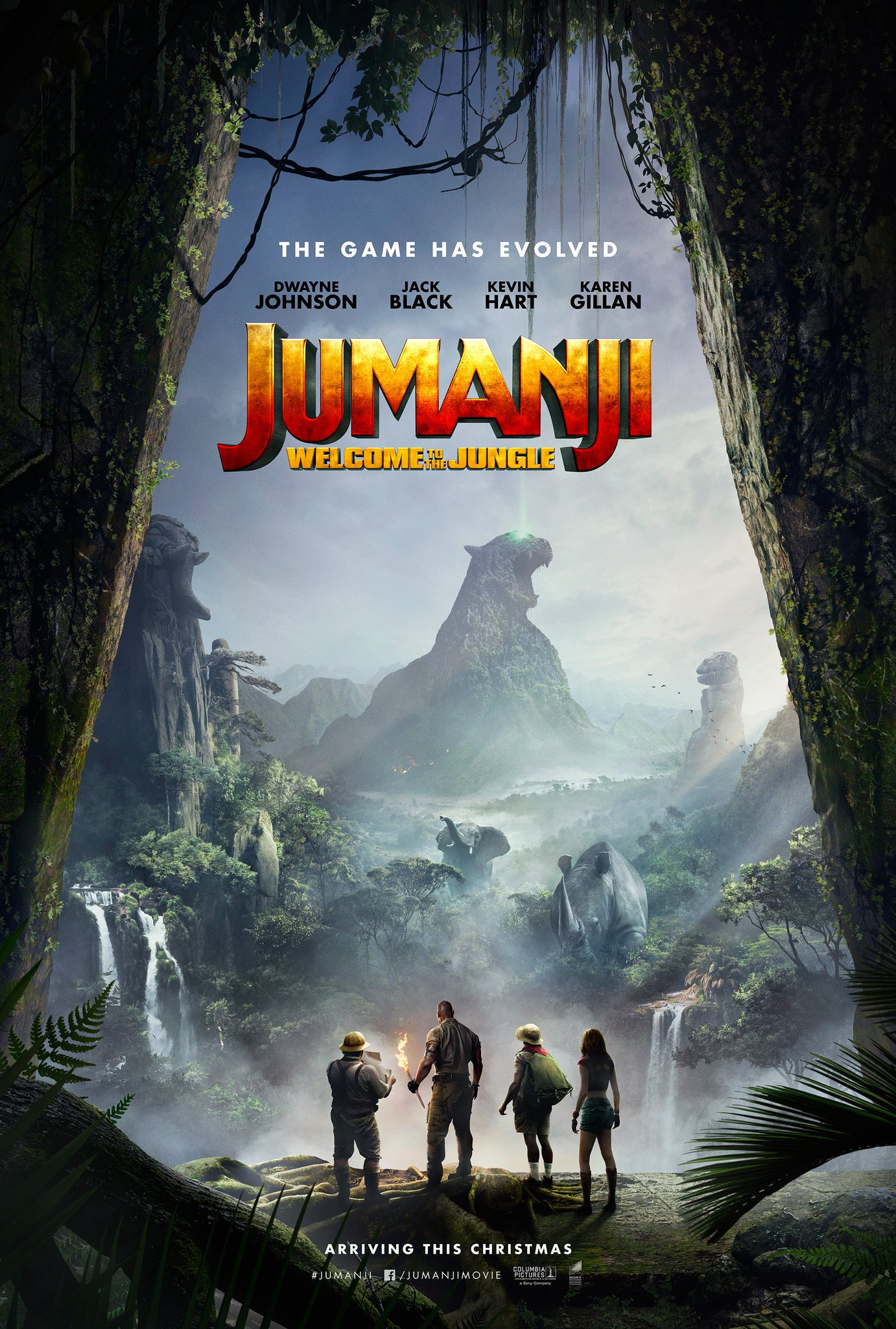 Resultado de imagem para Jumanji: Welcome to the Jungle posters