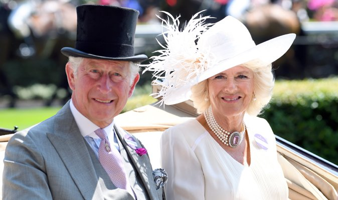 'Like bees around a honeypot' biography reveals how Camilla won charm...