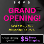 Congratulations to our latest #SevaBeauty studio Grand Opening located at 5600 N Henry Blvd, Stockbridge, GA 30281