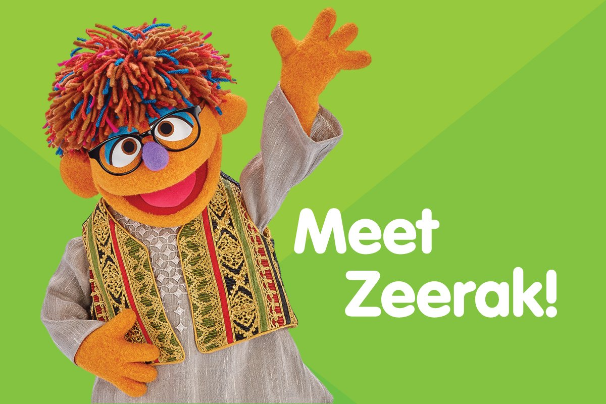 We are proud to introduce our newest Muppet from Afghanistan, Zeerak!...