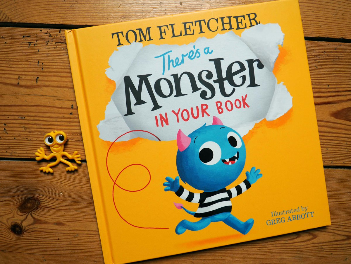 Image result for there's a monster in your book review