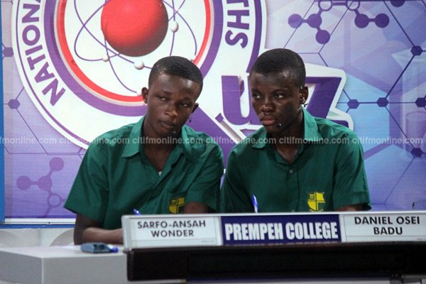 At the end of the contest Adisadel - 31 Aquinas - 51 Prempeh - 53  #NS...