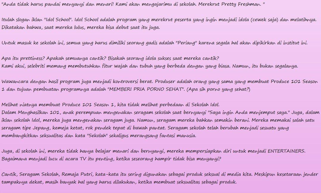 Idolschool Indonesia On Twitter Apasih Idol School Itu