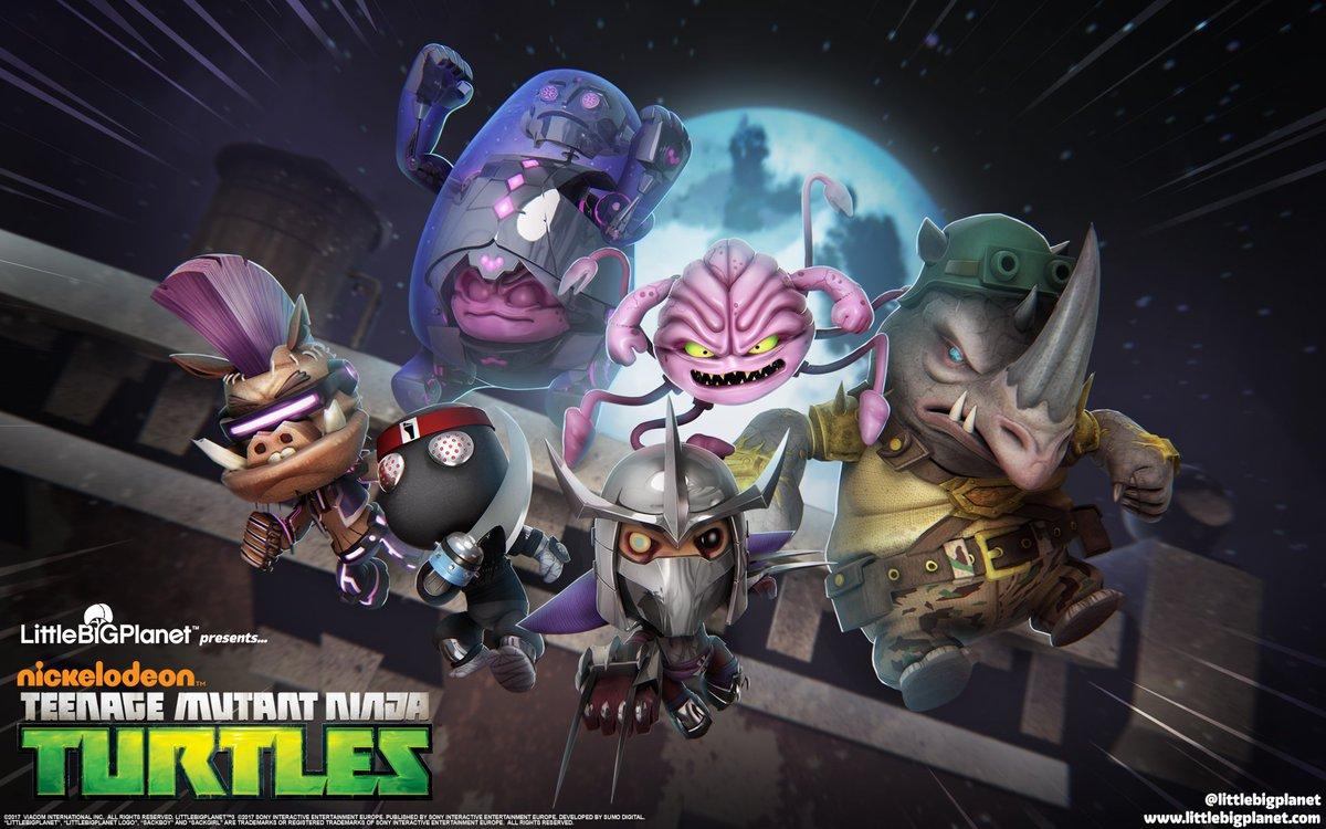 littlebigplanet on twitter the teenage mutant ninja turtles