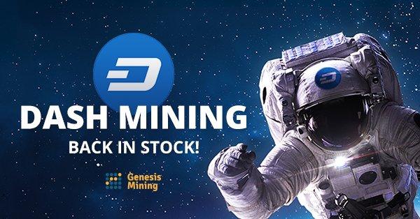 Genesis Mining on Twitter: