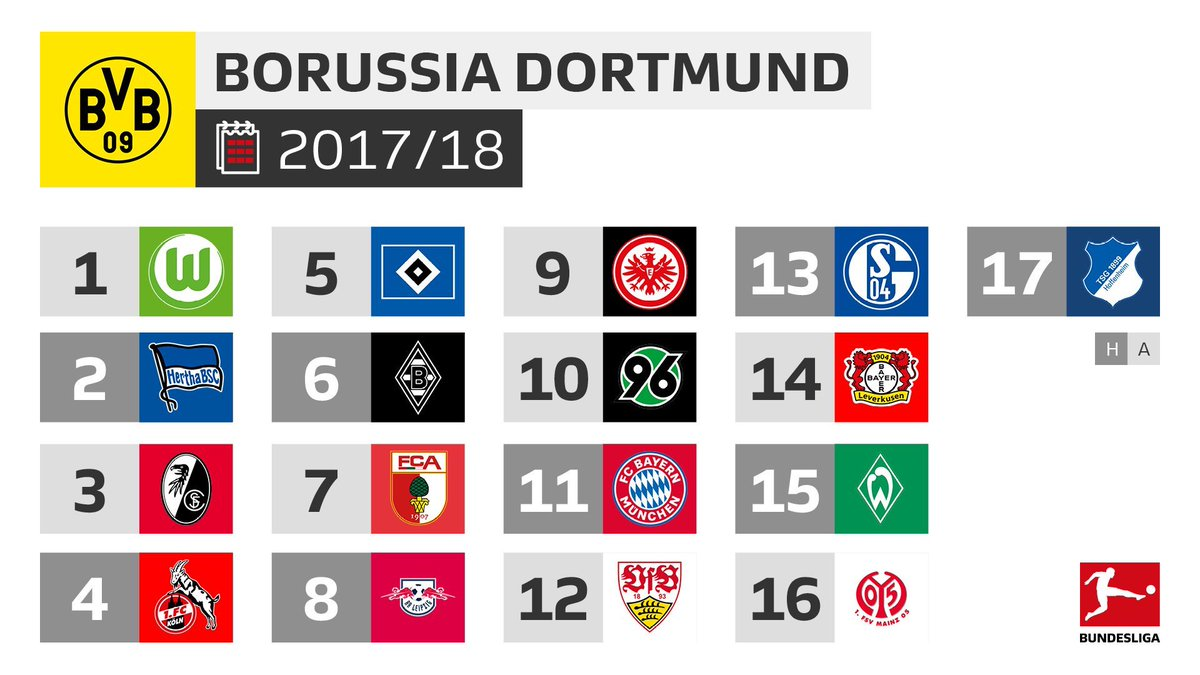 Calendrier Bayern.Actu Foot On Twitter Le Calendrier Du Bayern Et De