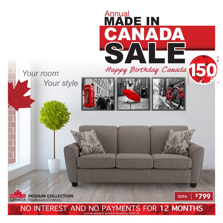 Pleasing Poirier Furniture On Twitter Annual Made In Canada Sale Andrewgaddart Wooden Chair Designs For Living Room Andrewgaddartcom